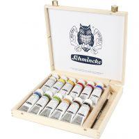 Schmincke AKADEMIE® Acryl-Farbe, 12x60 ml/ 1 Pck