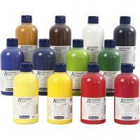 Schmincke AKADEMIE® Acrylfarbe, 12x500 ml/ 1 Pck