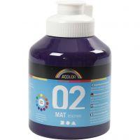 A-Color Acrylfarbe, Matt, Violett, 500 ml/ 1 Fl.
