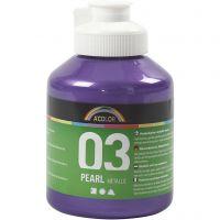 A-Color Acrylfarbe, Metallic, Violett, 500 ml/ 1 Fl.