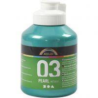 A-Color Acrylfarbe, Metallic, Grün, 500 ml/ 1 Fl.