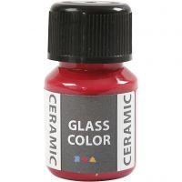 Glas/Keramik-Farbe, Karminrot, 35 ml/ 1 Fl.