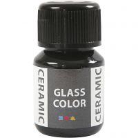 Glas/Keramik-Farbe, Schwarz, 35 ml/ 1 Fl.