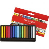 Neocolor I - Ölkreide, L: 5 cm, Dicke 8 mm, Sortierte Farben, 15 Stk/ 1 Pck