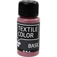 Textilfarbe, Dunkelrosa, 50 ml/ 1 Fl.