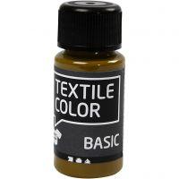 Textilfarbe, Olivbraun, 50 ml/ 1 Fl.