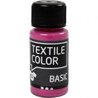 Textilfarbe, Pink, 50 ml/ 1 Fl.