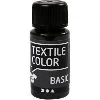 Textilfarbe, Schwarz, 50 ml/ 1 Fl.