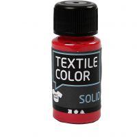 Textile Solid, Deckend, Rot, 50 ml/ 1 Fl.
