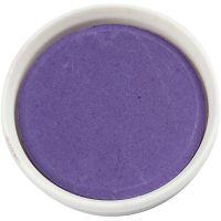 Wasserfarben, D: 30 mm, Violett, 12 Stk/ 1 Pck