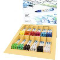 SOLO GOYA Aqua Paint Marker-Sets, Sortierte Farben, 12x6 Stk/ 1 Pck