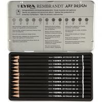 Lyra Art Design Zeichenstift, Stärke F, 12 Stk/ 1 Pck