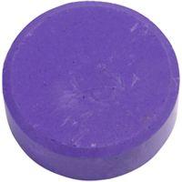 Wasserfarben, H: 16 mm, D: 44 mm, Flieder, 6 Stk/ 1 Pck