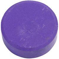 Wasserfarben, H: 19 mm, D: 57 mm, Flieder, 6 Stk/ 1 Pck