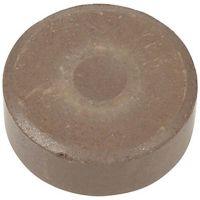 Wasserfarben, H: 19 mm, D: 57 mm, Braun, 6 Stk/ 1 Pck