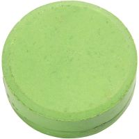 Wasserfarben, H: 19 mm, D: 57 mm, Grün, 6 Stk/ 1 Pck