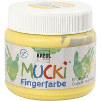 Fingerfarbe, Gelb, 150 ml/ 1 Dose