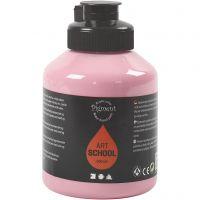 Pigment Art School-Farbe, Deckend, Staubrosé, 500 ml/ 1 Fl.