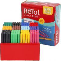 Berol Marker, Strichstärke 1-1,7 mm, Sortierte Farben, 288 Stk/ 1 Pck