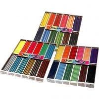 Colortime Buntstifte, Sortierte Farben, 576 Stk/ 1 Pck