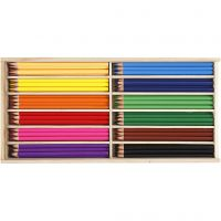 Buntstifte, Mine 3 mm, Sortierte Farben, 144 Stk/ 1 Pck