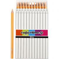 Colortime Buntstifte, L: 17,45 cm, Mine 5 mm, JUMBO, Hellbeige, 12 Stk/ 1 Pck
