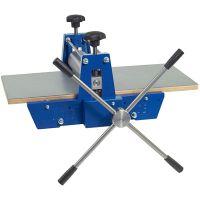 Linoldruckpresse, Mit Einstellmöglichkeiten, Größe 40x70 cm, 1 Stk