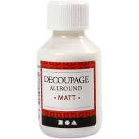 Découpage-Lack, Matt, 100 ml/ 1 Fl.
