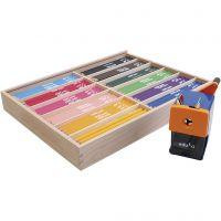 edu3 Jumbo-Buntstifte, Mine 6,25 mm, Sortierte Farben, 12x12 Stk/ 1 Pck