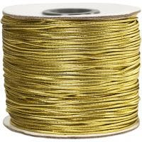 Elastikband, Dicke 1 mm, Gold, 100 m/ 1 Rolle