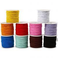 Elastikband, Dicke 1 mm, 10x25 m/ 1 Pck