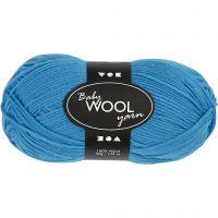 Babywolle, L: 172 m, Meerblau, 50 g/ 1 Knäuel