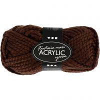 Fantasia Polyacryl-Wolle, Braun, 50 g/ 1 Knäuel