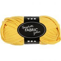 Spaghetti-Garn, L: 35 m, Gelb, 100 g/ 1 Knäuel
