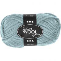 Sydney Wolle, L: 50 m, Mintgrün, 50 g/ 1 Knäuel