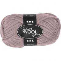 Sydney Wolle, L: 50 m, Rosa, 50 g/ 1 Knäuel
