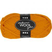 Melbourne Wolle, L: 92 m, Ocker, 50 g/ 1 Knäuel