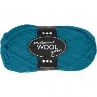 Melbourne Wolle, L: 92 m, Petrol, 50 g/ 1 Knäuel