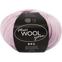 Wolle, L: 125 m, Staubrosa, 100 g/ 1 Knäuel