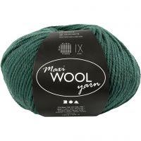 Wolle, L: 125 m, Grün, 100 g/ 1 Knäuel