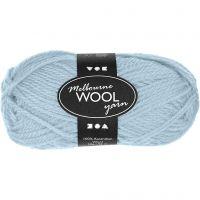 Melbourne Wolle, L: 92 m, Helltürkis, 50 g/ 1 Knäuel