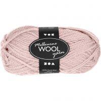 Melbourne Wolle, L: 92 m, Rosa, 50 g/ 1 Knäuel