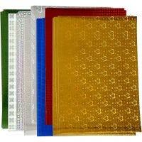 Hologramm-Papier, A4, 210x297 mm, 120 g, 80 Bl. sort./ 1 Pck
