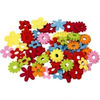 Blumen, Größe 35x45 mm, 135 Stk/ 1 Pck