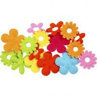 Blumen, Größe 35x45 mm, 16 Stk/ 1 Pck