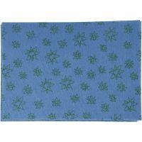 Bastelfilz, A4, 210x297 mm, Dicke 1 mm, Blau, 10 Bl./ 1 Pck
