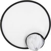 Frisbee, D: 25 cm, Weiß, 5 Stk/ 1 Pck