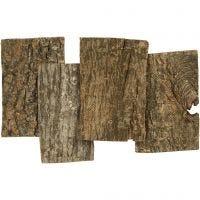 Baumrinde, Größe 9,5x6,5 cm, Dicke 1-4 mm, 340 g/ 1 Pck