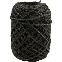 Natur-Hanfkordel, Dicke 1-2 mm, Grau, 30 m/ 1 Rolle
