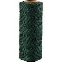 Bambuskordel, Dicke 1 mm, Grün, 65 m/ 1 Rolle